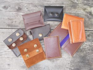 custom leather wallets